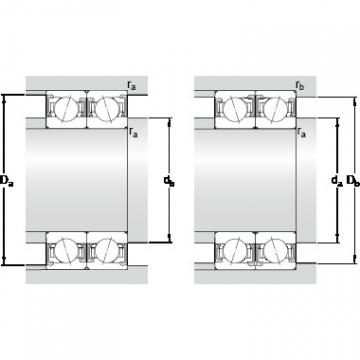 SKF S7022 CDTP/HCP4B High precision angular contact ball bearings